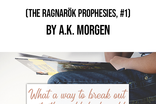 Review of Fade The Ragnarök Prophesies Title and photo of books