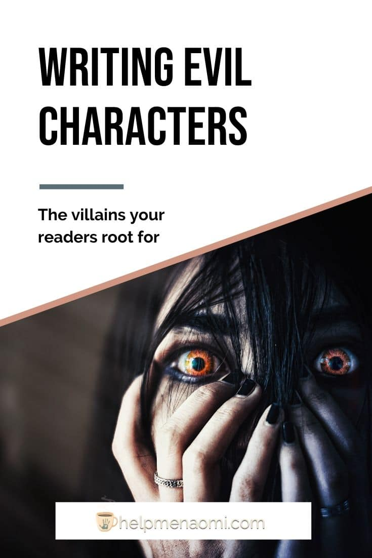 Writing Evil Characters blog title overlay