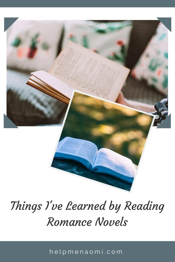 5 Things I've Learned by Reading Romance blog title overlay