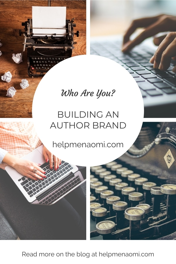 Building an Author Brand (Just who are you, anyway?) blog title overlay