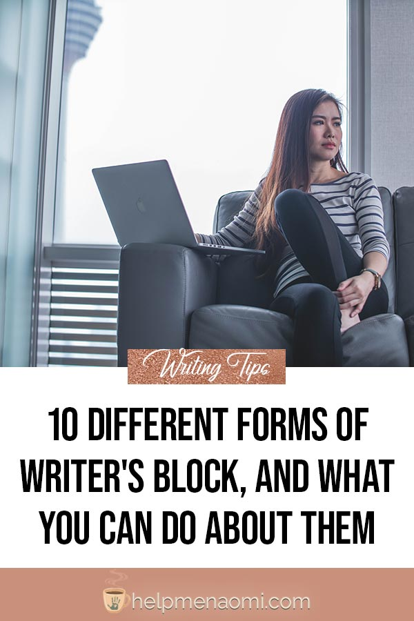 How to End Writer's Block - blog title overlay