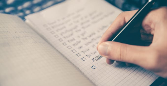 How to set goals and achieve them -- goal-based to-do lists for the win!!