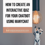 How to Create an Interactive Quiz for your Chatbot using ManyChat 2
