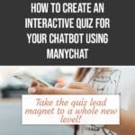 How to Create an Interactive Quiz for your Chatbot using ManyChat 3