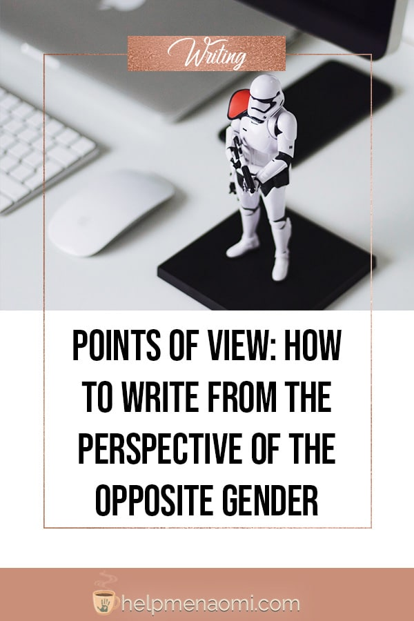 How to write from the perspective of the opposite gender blog title overlay