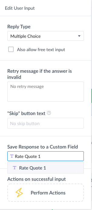 How to Build a Quote Request Calculator for Messenger in ManyChat 13