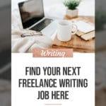 Find Freelance Writing Jobs 3
