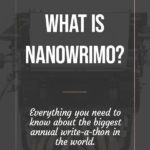 What is NaNoWriMo 1