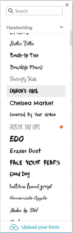 Picmonkey Screen Shot Choose Font