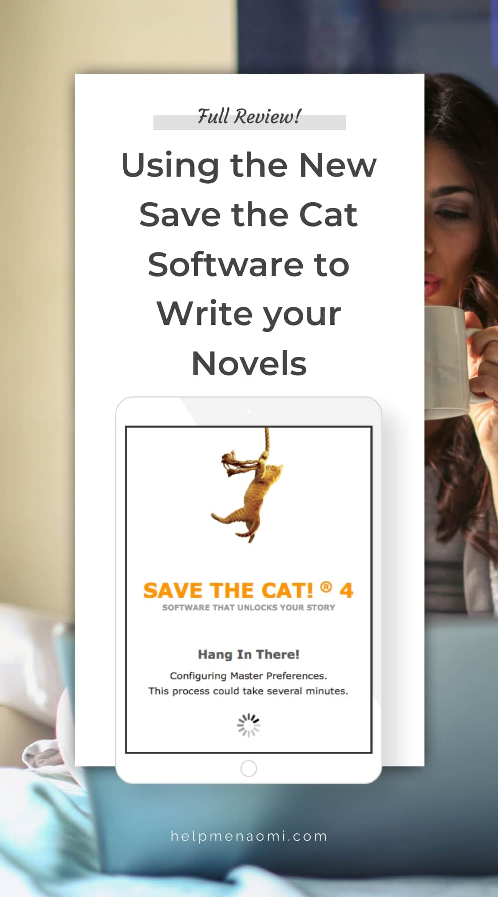 Using the new Save the Cat Software for Story Structure blog title overlay